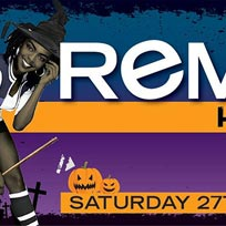 Remedy at Concrete on Saturday 27th October 2018