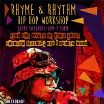 Rhyme & Rhythm at The Artworks on Saturday 6th August 2016