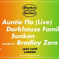 Rhythm Section presents at Jazz Cafe on Thursday 14th March 2019