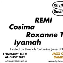 Rhythm Section presents at Jazz Cafe on Thursday 15th August 2019