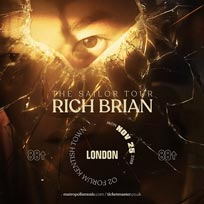 Rich Brian at The Forum on Monday 25th November 2019
