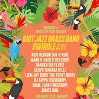 Riot Jazz Brass Band at Brixton Jamm on Saturday 21st January 2017