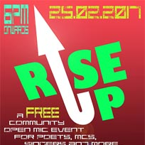Rise up at TONE on Saturday 25th February 2017