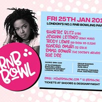 RnB Bowl at Bloomsbury Bowl on Friday 25th January 2019