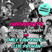 Rock The Belles 'HipHop Hype' at The Hoxton Pony on Friday 4th August 2017