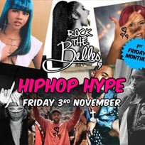 Rock The Belles x Hiphop Hype at The Hoxton Pony on Friday 3rd November 2017