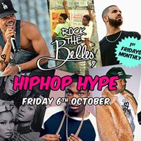 Rock The Belles x Hiphop Hype at The Hoxton Pony on Friday 6th October 2017