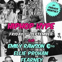 Rock The Belles 'HipHop Hype' at The Hoxton Pony on Friday 1st September 2017