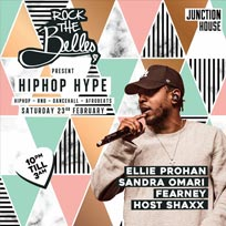 Rock The Belles x Hiphop Hype Dalston at Junction House on Saturday 23rd February 2019