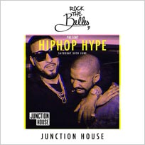 Rock The Belles x Hiphop Hype x Junction House at Junction House on Saturday 30th June 2018