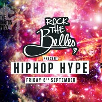 Rock The Belles x Hiphop Hype at The Hoxton Pony on Friday 6th September 2019