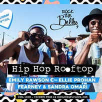 Rock The Belles x Hiphop Rooftop at Queen of Hoxton on Sunday 8th July 2018