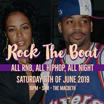 Rock the Boat at The Macbeth on Saturday 8th June 2019