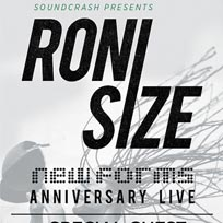 Roni Size at The Forum on Friday 23rd February 2018