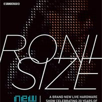 Roni Size at Oval Space on Friday 28th April 2017