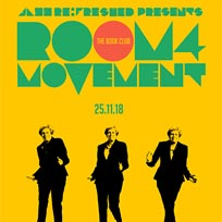 Room4Movement at Book Club on Sunday 25th November 2018