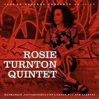 Rosie Turton Quintet at Mau Mau Bar on Thursday 30th November 2017