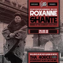 Roxanne Shante at Chip Shop BXTN on Saturday 29th September 2018