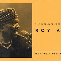 Roy Ayers at Jazz Cafe on Tuesday 3rd July 2018