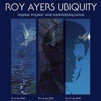 Roy Ayers at Indigo2 on Friday 17th April 2020