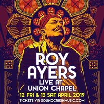 Roy Ayers at Union Chapel on Friday 12th April 2019