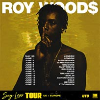 Roy Woods at Electric Ballroom on Thursday 31st May 2018
