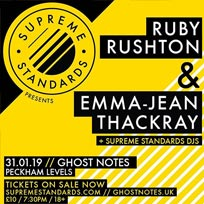 Ruby Rushton at Ghost Notes on Thursday 31st January 2019