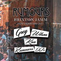 Rumours at Brixton Jamm on Saturday 18th February 2017