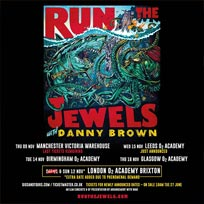 Run the Jewels at Brixton Academy on Sunday 12th November 2017