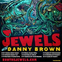 Run the Jewels at Brixton Academy on Saturday 11th November 2017