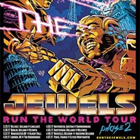 Run the Jewels at The Roundhouse on Saturday 1st April 2017