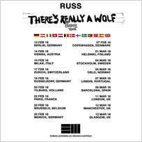 Russ at Brixton Academy on Sunday 11th March 2018