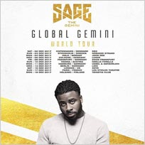 Sage the Genini at XOYO on Saturday 16th December 2017