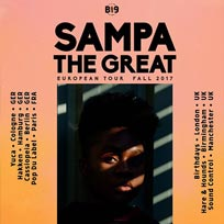 Sampa The Great at Birthdays on Wednesday 8th November 2017