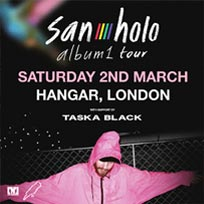 San Holo at Hangar on Saturday 2nd March 2019
