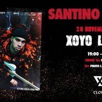 Santino Le Saint at XOYO on Tuesday 26th November 2019