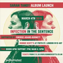 Sarah Tandy at Ronnie Scotts on Monday 4th March 2019