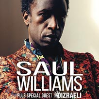 Saul Williams at Jazz Cafe on Monday 20th June 2016