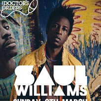 Saul Williams London March 2016