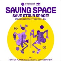 Saving Space at Stour Space on Saturday 27th April 2019