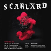 Scarlxrd at Electric Brixton on Saturday 29th September 2018
