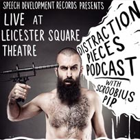Scroobius Pip at Leicester Square Theatre on Wednesday 3rd August 2016