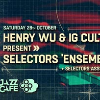 Selectors 'Ensemble' Live at Jazz Cafe on Saturday 28th October 2017