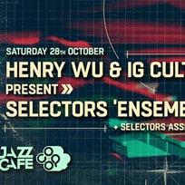 Selectors 'Ensemble' Live at Jazz Cafe on Saturday 28th October 2017