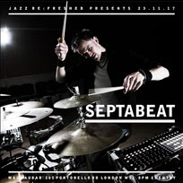 Septabeat at Mau Mau Bar on Thursday 23rd November 2017