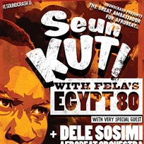 Seun Kuti & Egypt 80  at Electric Brixton on Friday 2nd March 2018