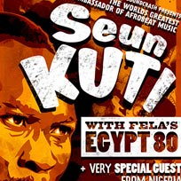 Seun Kuti & Egypt 80 at Islington Assembly Hall on Saturday 11th November 2017