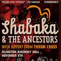 Shabaka & The Ancestors at Islington Assembly Hall on Wednesday 8th November 2017