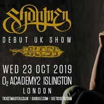 Shahmen at Islington Academy on Wednesday 23rd October 2019