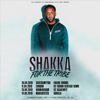 Shakka at The Forum on Thursday 11th April 2019